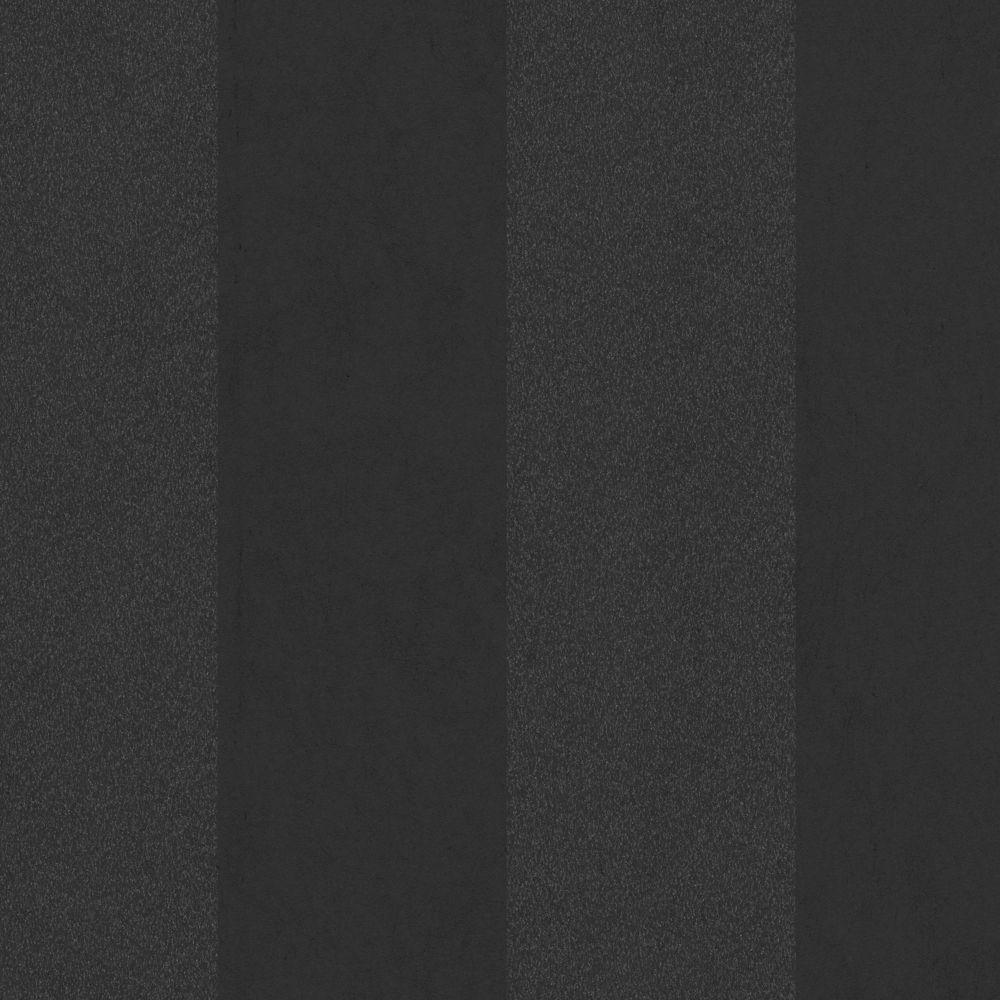 Artisan Stripe Black Wallpaper