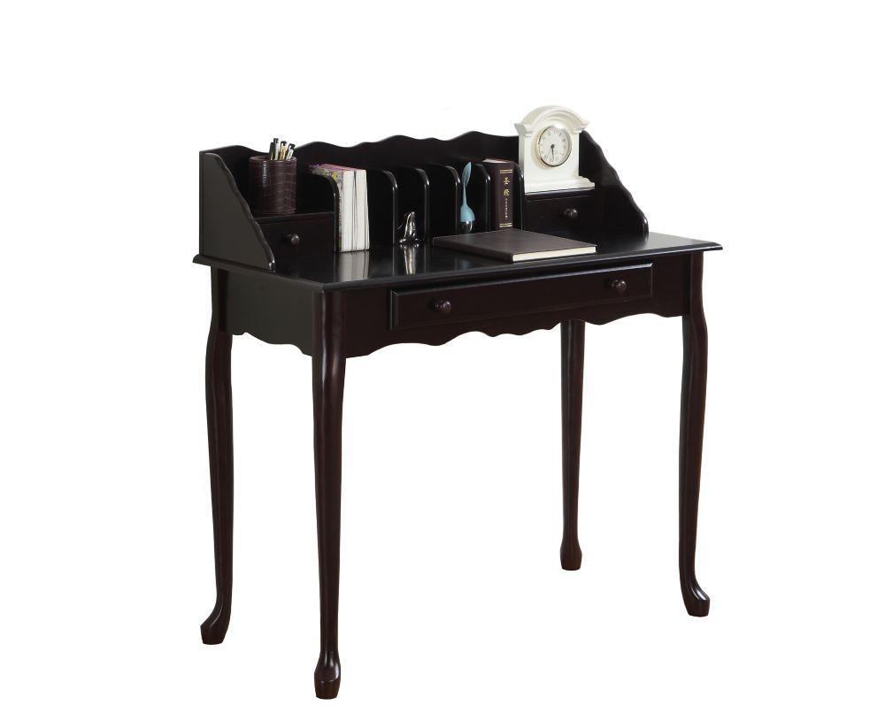 Desk - 36 Inch L / Dark Cherry Traditional