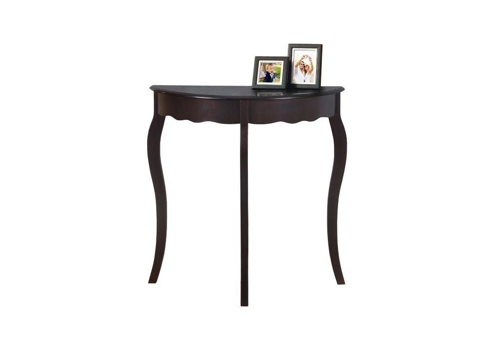 """TABLE D'APPOINT - 31""""L / CONSOLE D'ENTREE CERISE FONCE"""