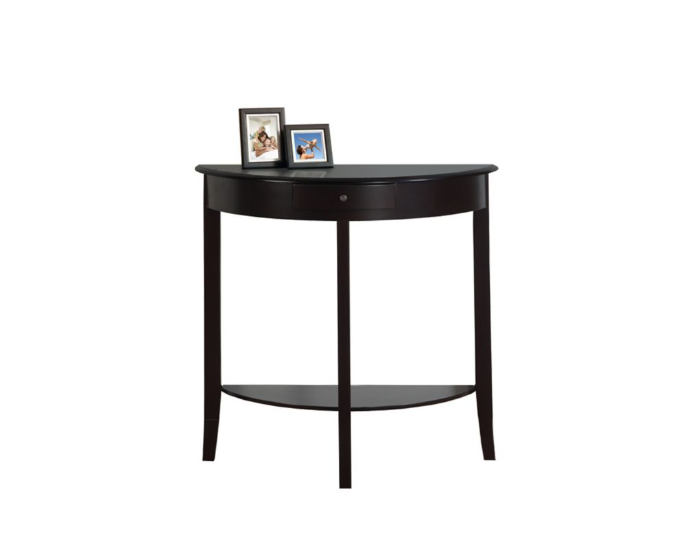 Accent Table - 31 Inch L / Dark Cherry Hall Console