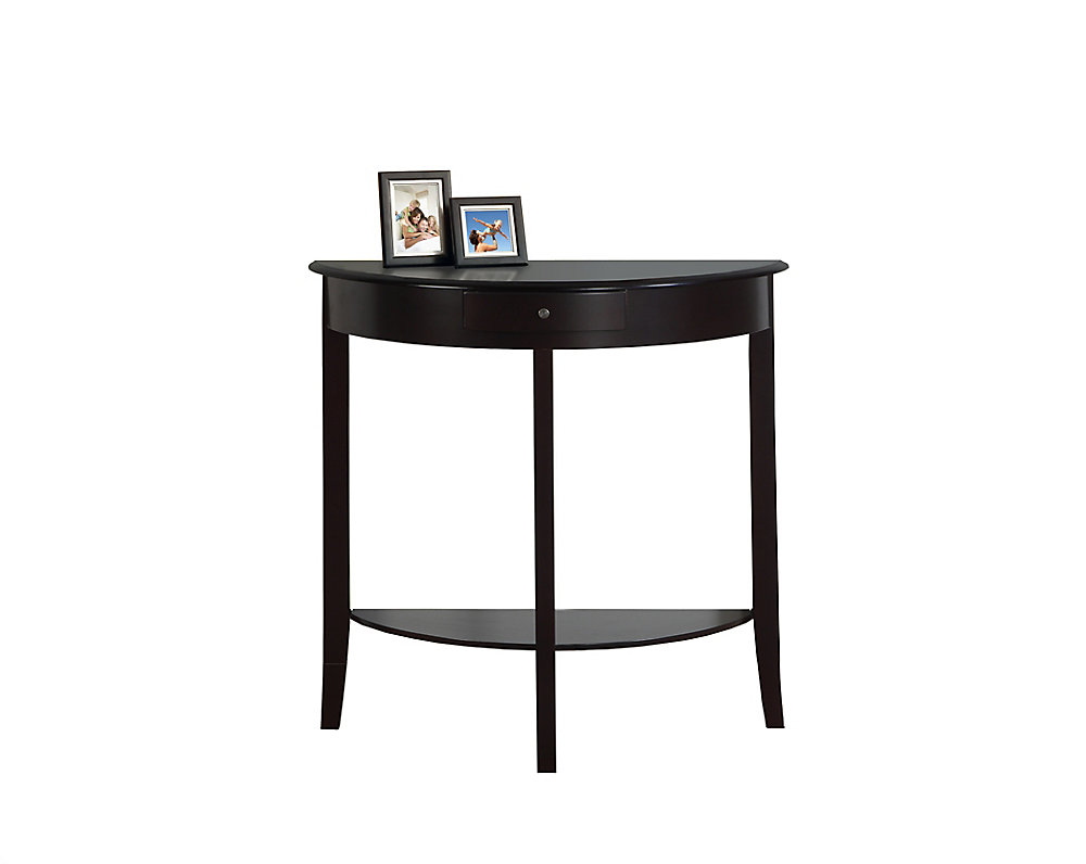 Miraculous Accent Table 31 Inch L Dark Cherry Hall Console Interior Design Ideas Inesswwsoteloinfo