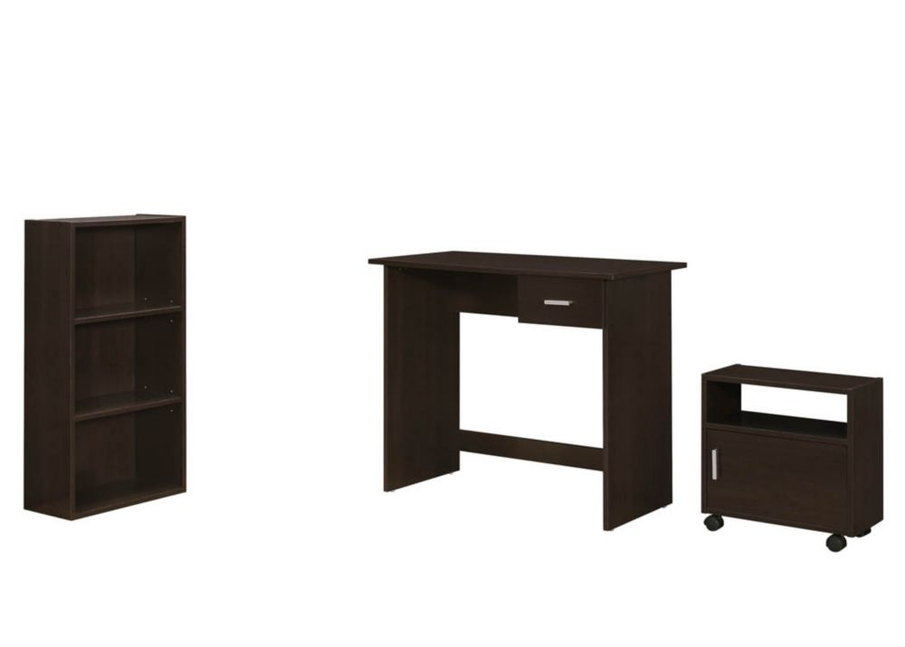 Monarch Specialties Computer Desk 48 Inch L White Left Or Right Facing The Home Depot Canada