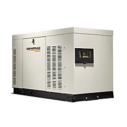 Generac 22,000W Liquid Cooled 120/240 Single Phase Standby Generator with Aluminum Enclosure