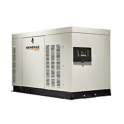 Generac Génératrice de secours automatique triphasée refroidie par liquide,30000watts, enceinte aluminium