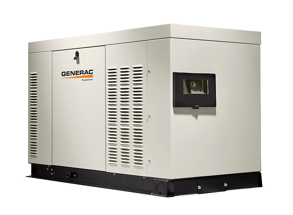 45,000W Liquid Cooled 120/240 Single Phase Automatic Standby Generator with Aluminum Enclosure