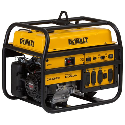 DEWALT 6000W Portable Generator