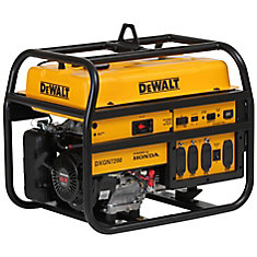 7,200W Gasoline Powered Electric/Manual Start Portable Generator with Honda Engine