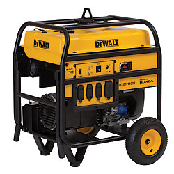 DEWALT 14,000 Watt Portable Generator with Electric Start