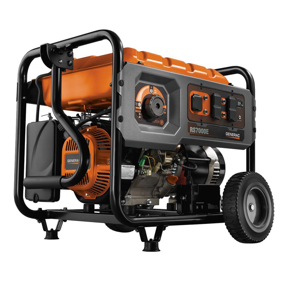 Generac RS7000E Gas-Powered 7,000 Watt Portable Generator