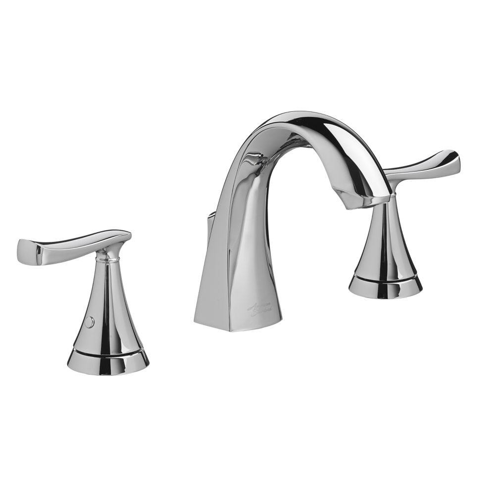 American Standard Chatfield Widespread (8-inch) 2-Handle High Arc Bathroom Faucet in Chrome with Lever Handles