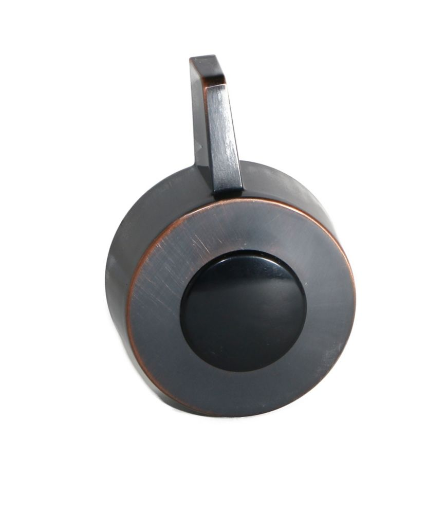 Jag Plumbing Products Shower Handle And Screw Cap Fits Delta Monitor Scaldguard in Oil-Rubbed Bronze