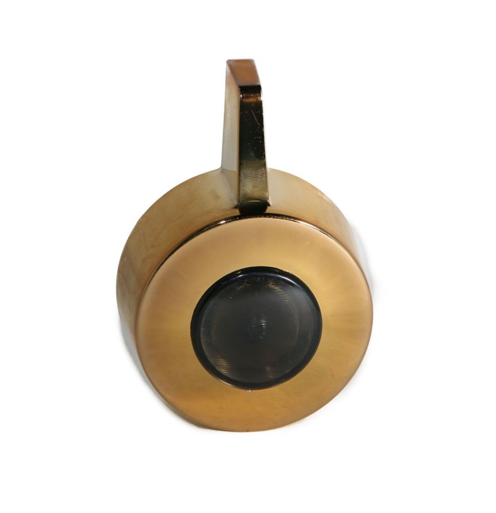 Jag Plumbing Products Shower Handle And Screw Cap Fits Moen Posi-Temp in Polished Brass