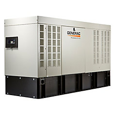 Protector Series 50,000W 120/208V Liquid Cooled 3-Phase Automatic Standby Diesel Generator