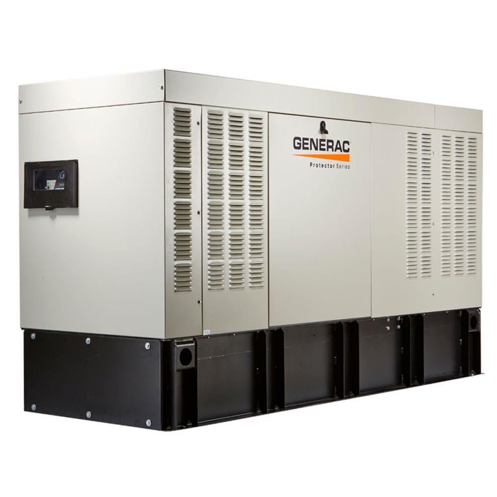 Génératrice diésel de secours automatique triphasée, refroidie par liquide, 50000watts