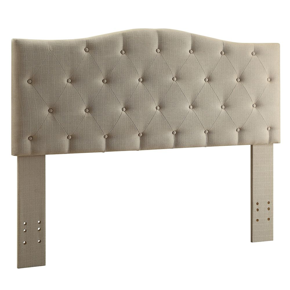 Grace Double/Queen Convertible Headboard Only - Grey