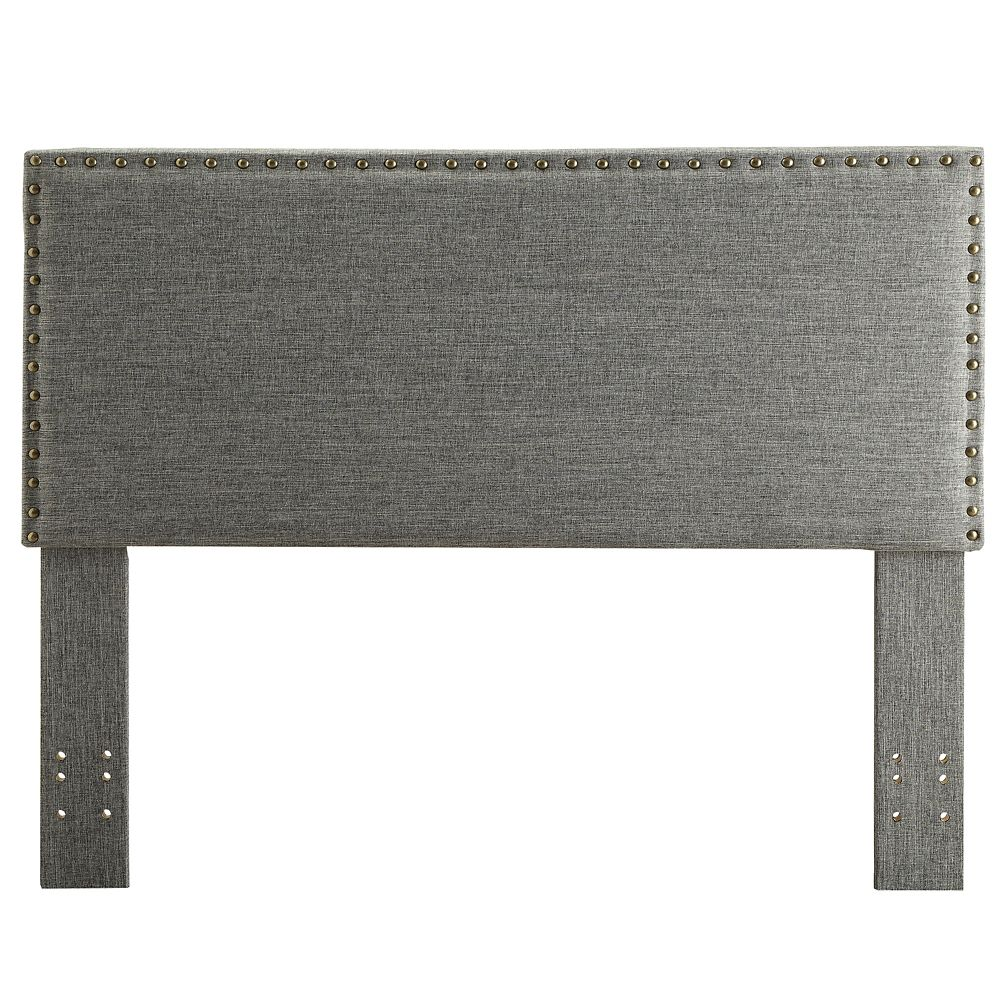 Leon Double/Queen Convertible Headboard Only - Natural Linen