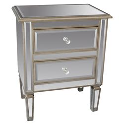 !nspire Eden-Accent Table-Antique Silver