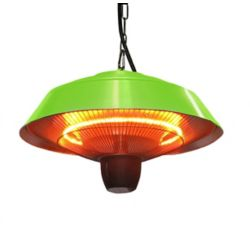 EnerG+ Hanging Infrared Heater in Green