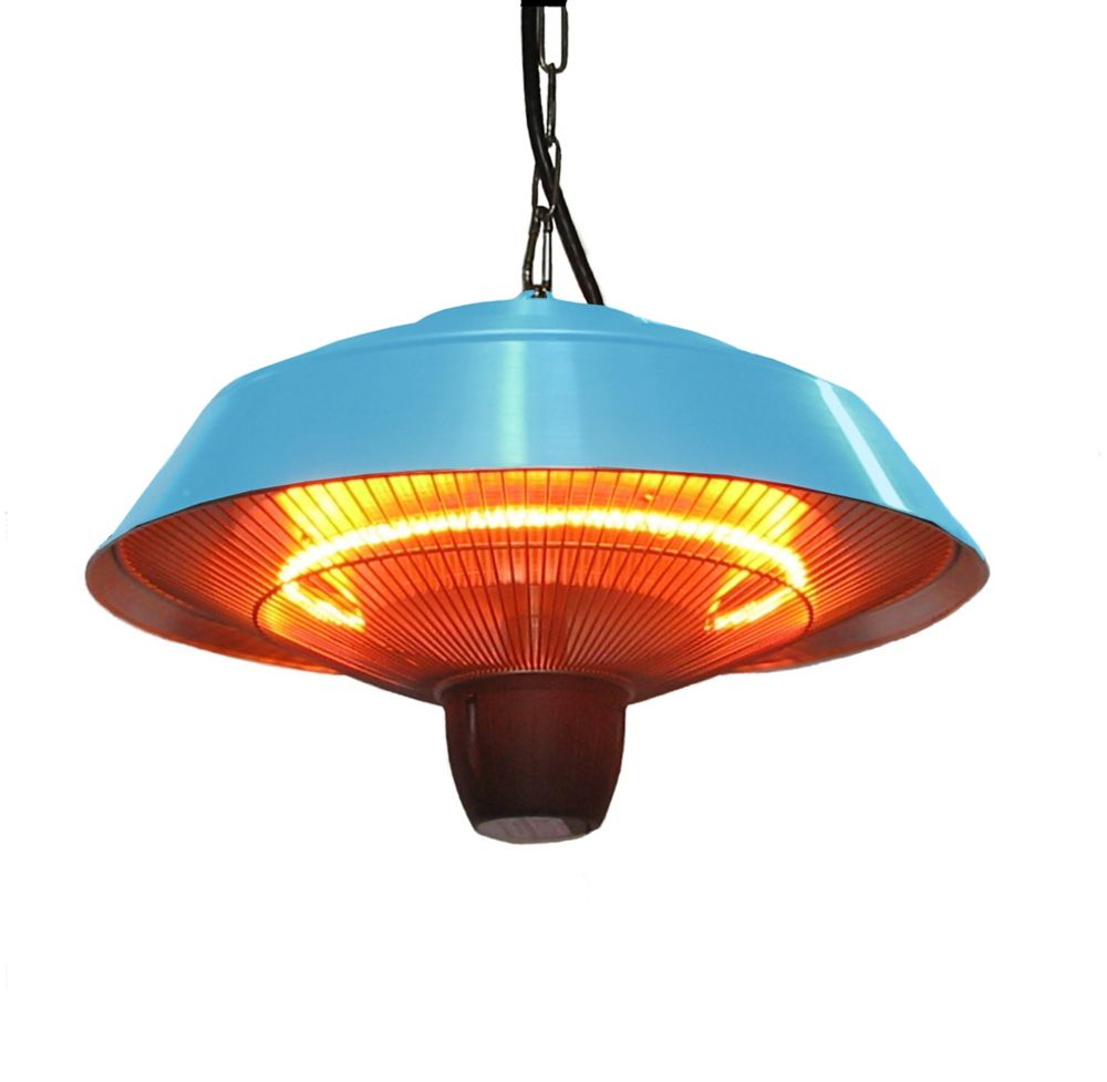 Hanging Infrared Heater-Blue