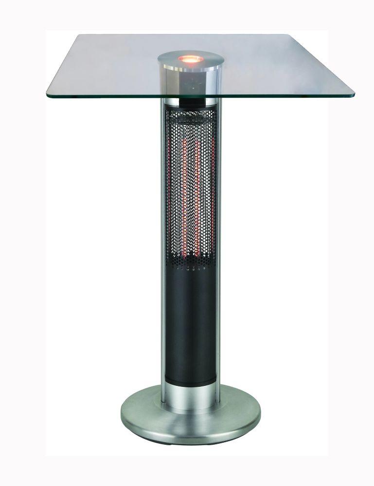 Chaufferette électrique de style table bistro