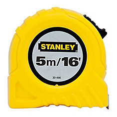 5m/16 ft. x 3/4-inch Tape Measure (Metric/English Scale)
