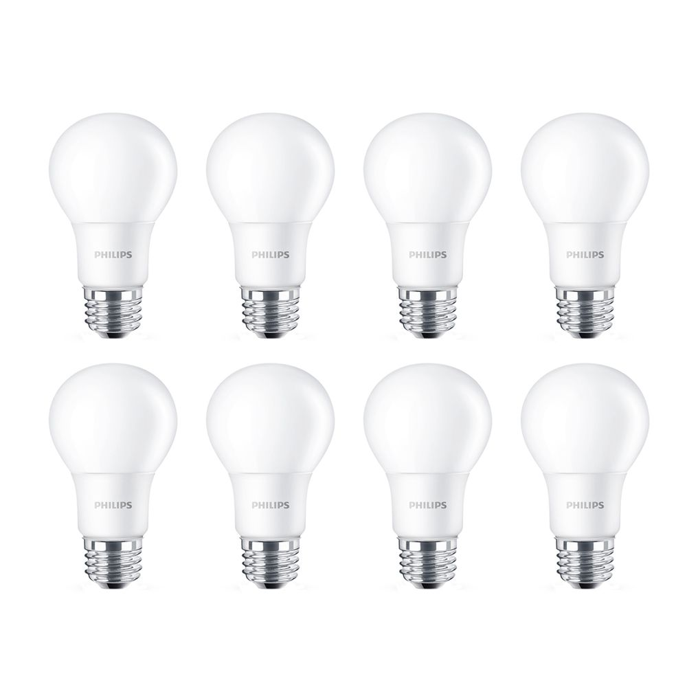 Led 40w A19 Soft White (2700k) Non-Dimmable - Case Of 8 Bulbs