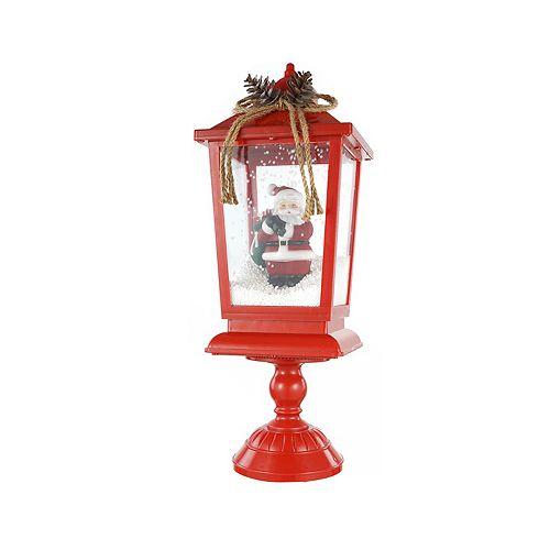 Home Accents Holiday Lampadaire à DEL pour décoration de table de Noël, 17 po