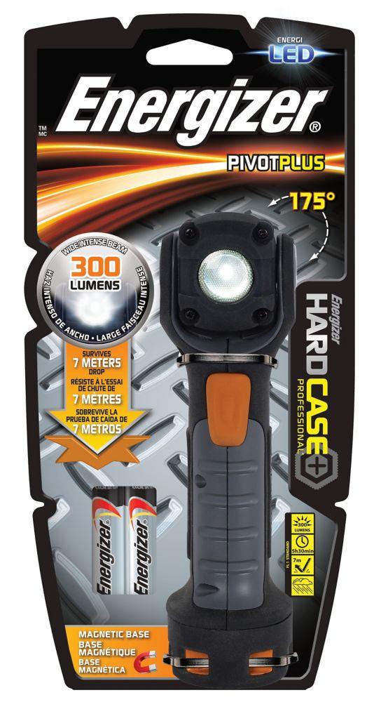 Lampe pivotante à DÉL Hard Case Professional Energizer<sup>®</sup>