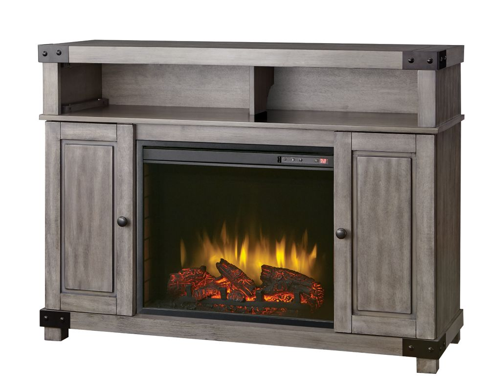 Home Decorators Collection Biscayne 48-inch Media  Console in Driftwood