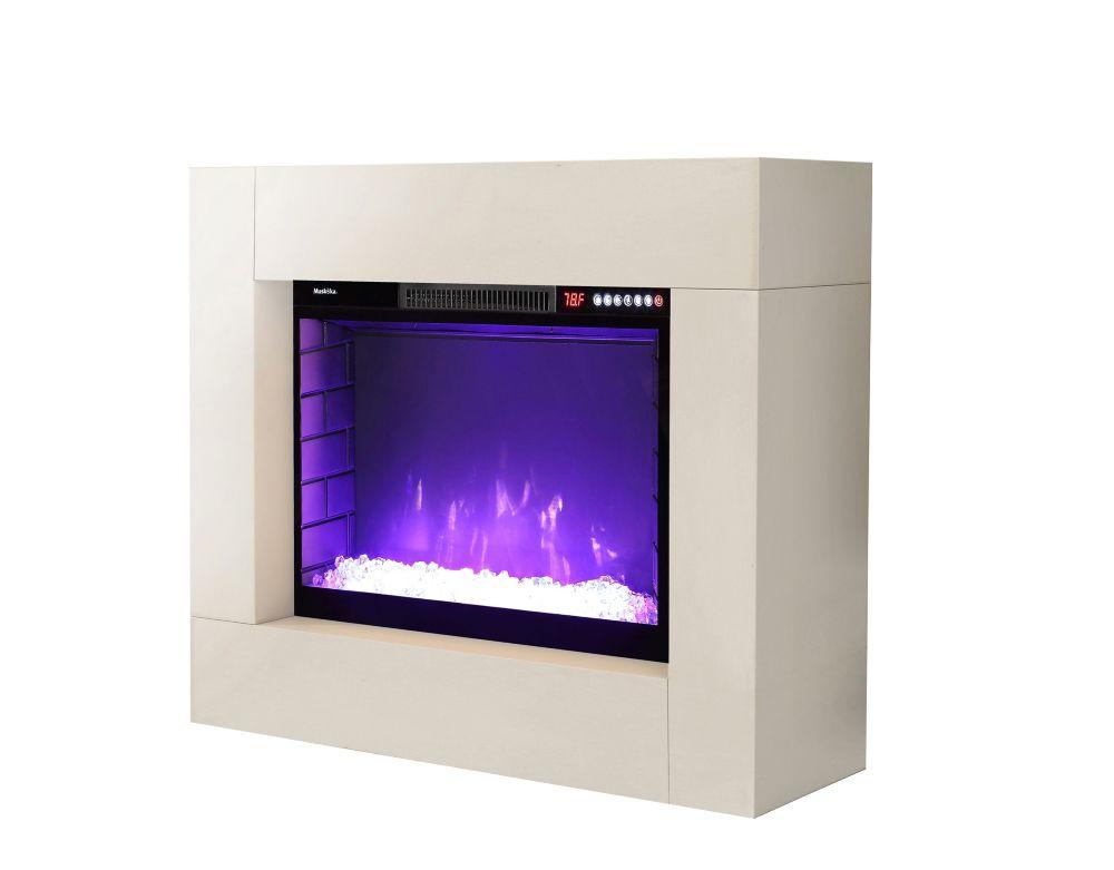 Foyer Électrique 38 Troubador-Blanc