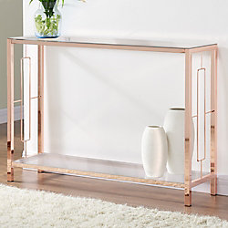 !nspire Athena-Console Table-Rose Gold