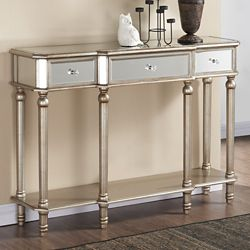 !nspire Eden-Console Table-Silver