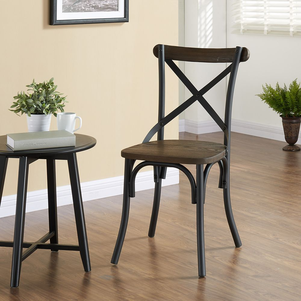 Fargo-Side Chair-Black