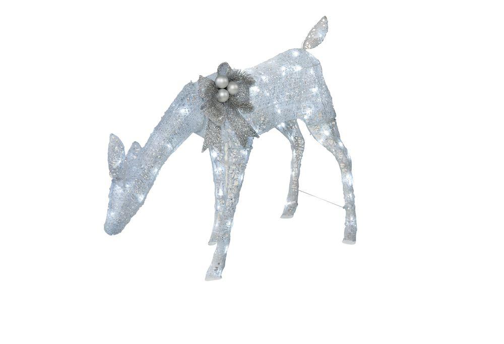 Biche étincelante à DEL de 76,2 cm