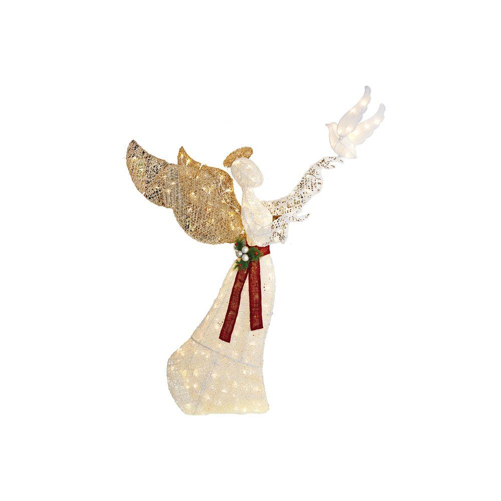 6 Feet LED Tinsel Angel