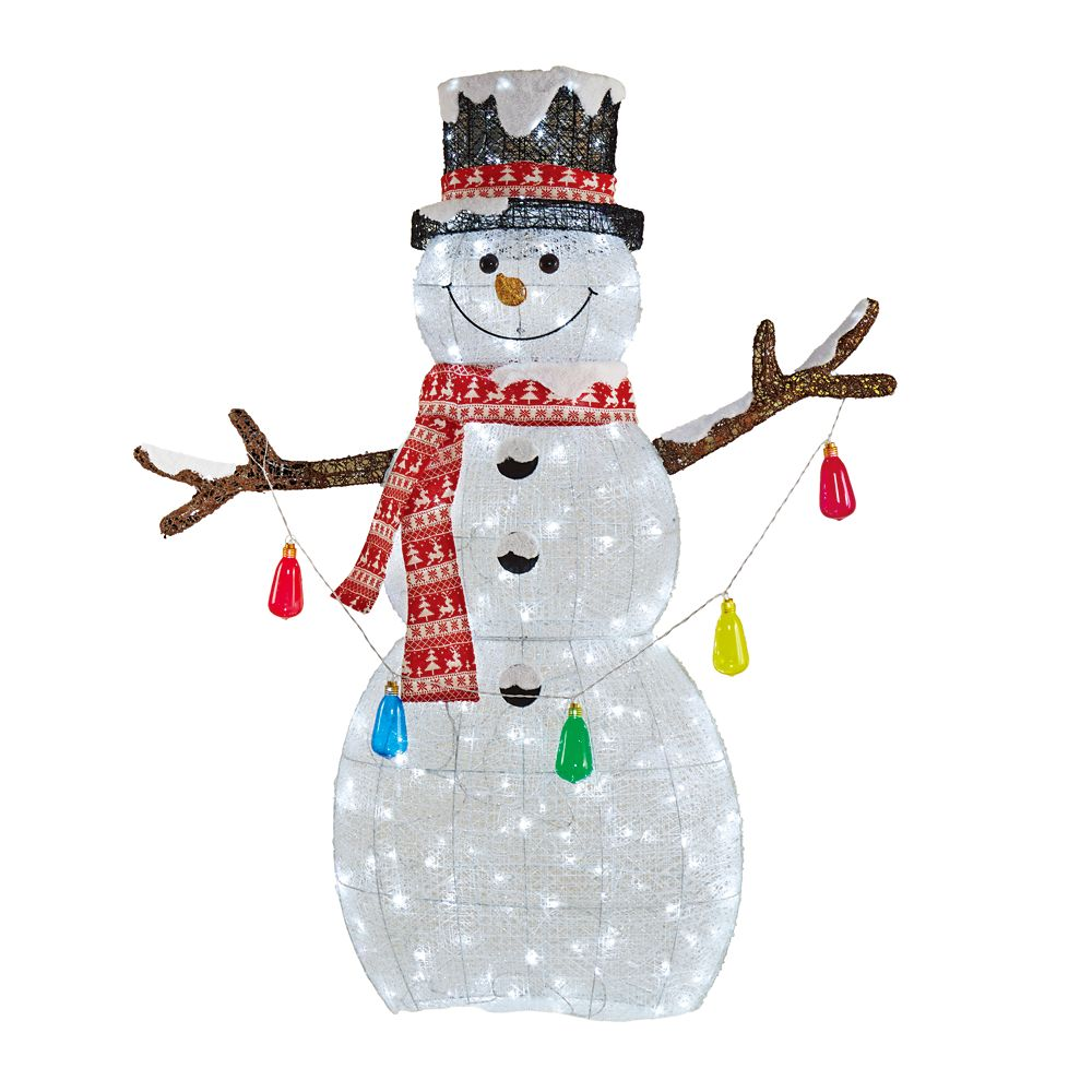 6 Feet Led Twinkling Snowman