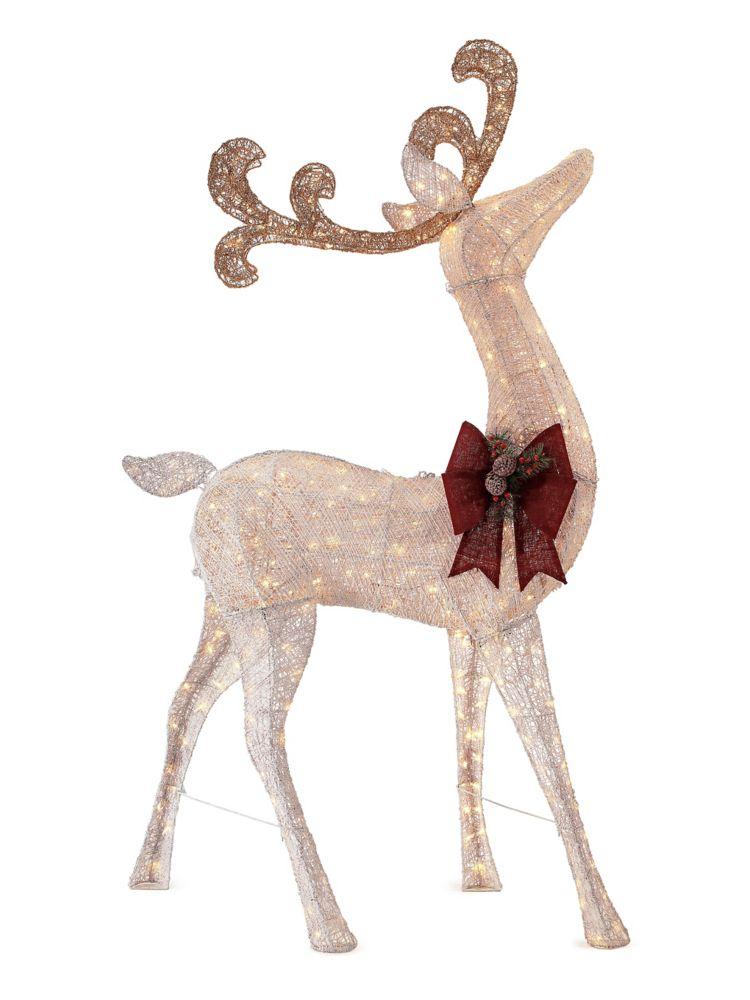 7 Feet 6 In LED Deer