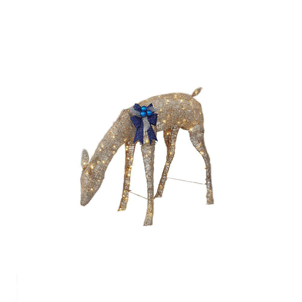 Biche en acrylique à DEL de 76,2 cm
