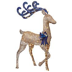 5 ft. LED Acrylic Reindeer
