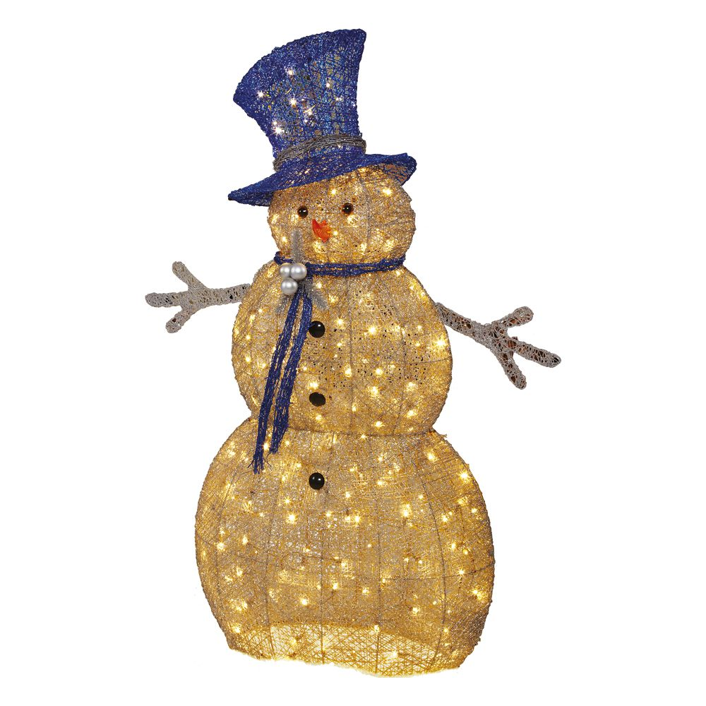5 Feet Led Acrylic Snowman