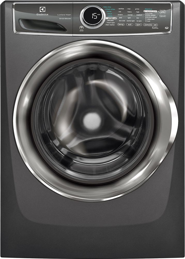5.1 Cubic Feet  Front Load Washer - Titanium
