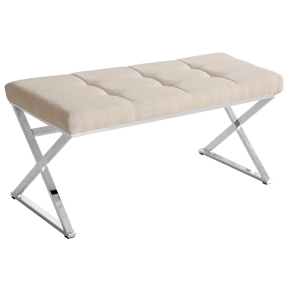 Vapor-Double Bench-Natural Linen