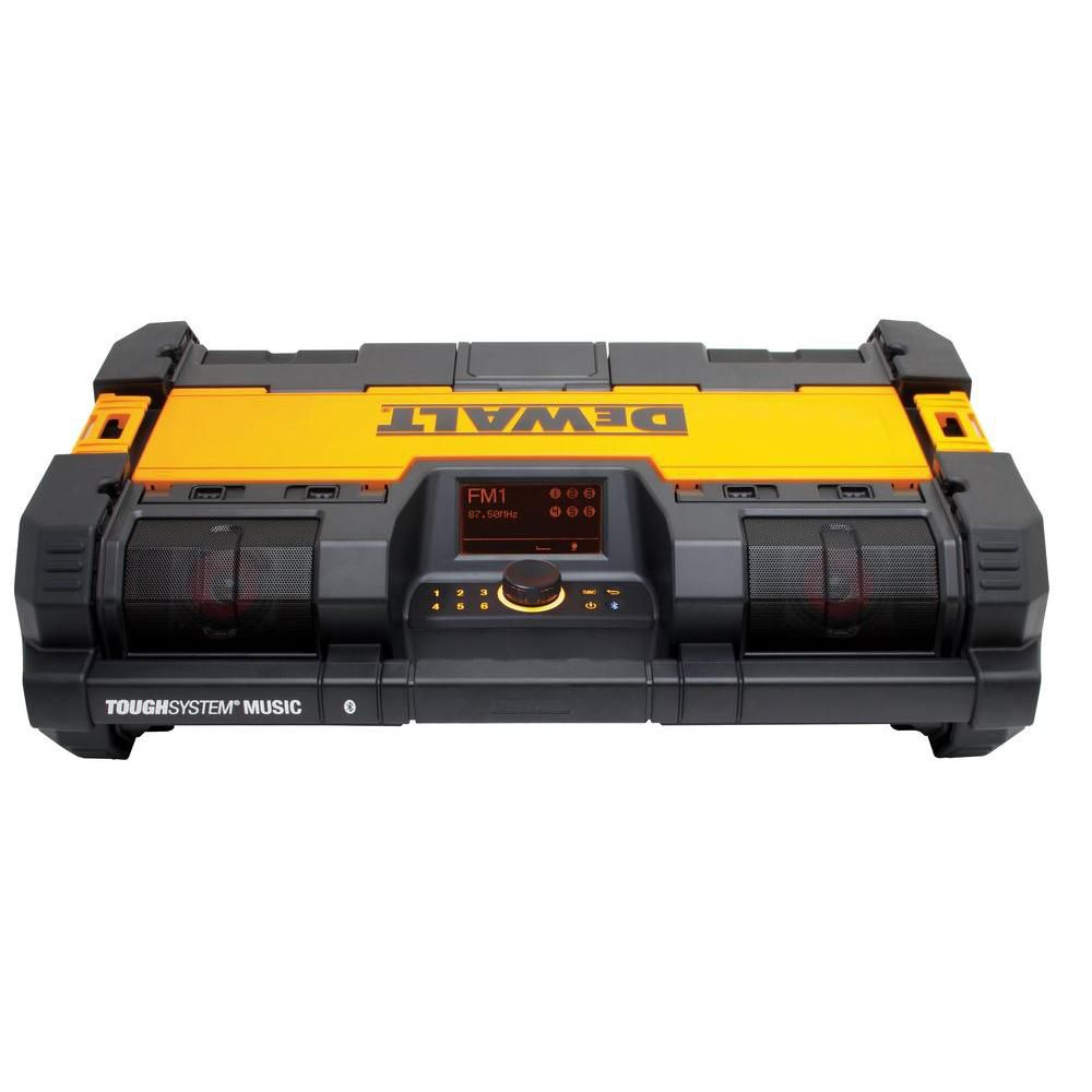 DEWALT ToughSystem Music Player with Charger