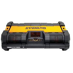 DEWALT ToughSystem 14-1/2-inch Portable and Stackable Radio/Digital Music Player w/ Bluetooth and Battery Charger