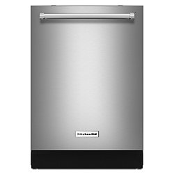 KitchenAid Top Control Built-In Dishwasher in Stainless Steel, 44 dBA - ENERGY STAR®