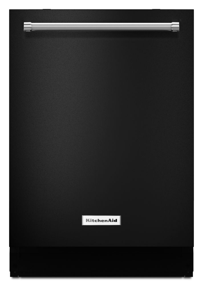 KitchenAid Top Control Dishwasher with 3rd Rack in Black, 44 dBA - ENERGY STAR®