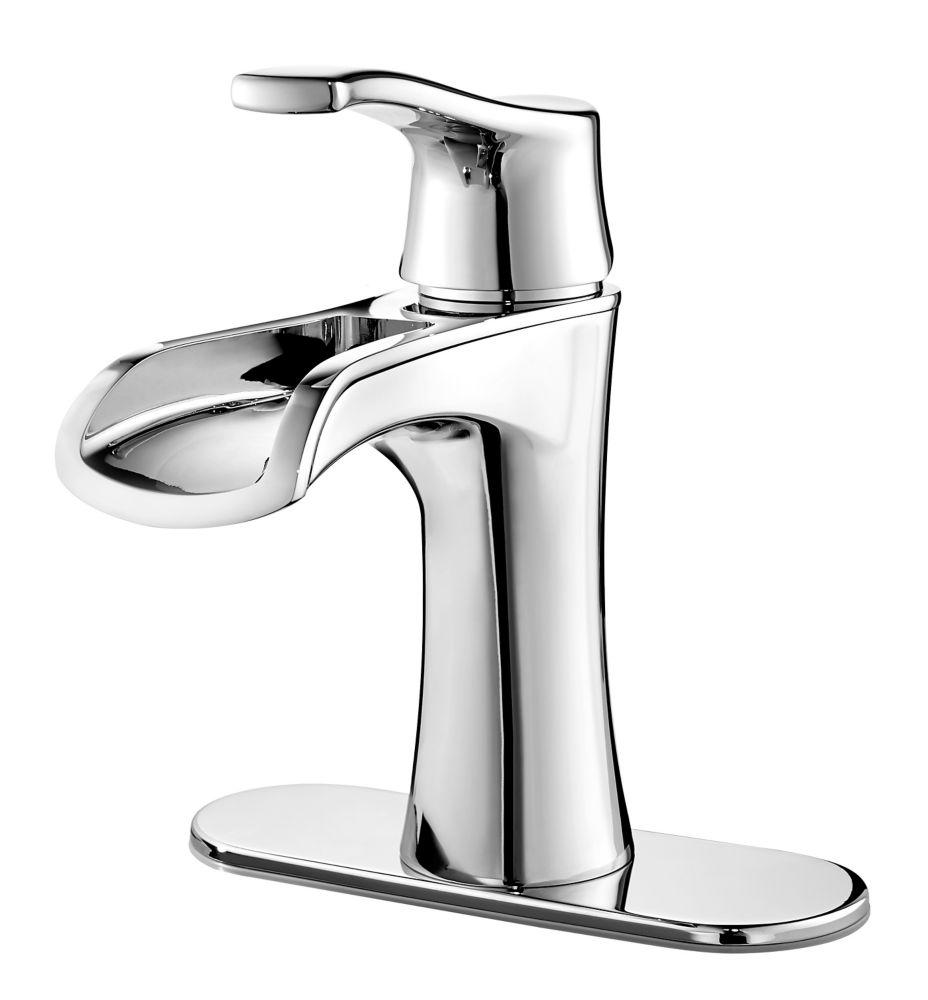 Pfister Aliante Single-Lever Bathroom Trough Faucet in Chrome