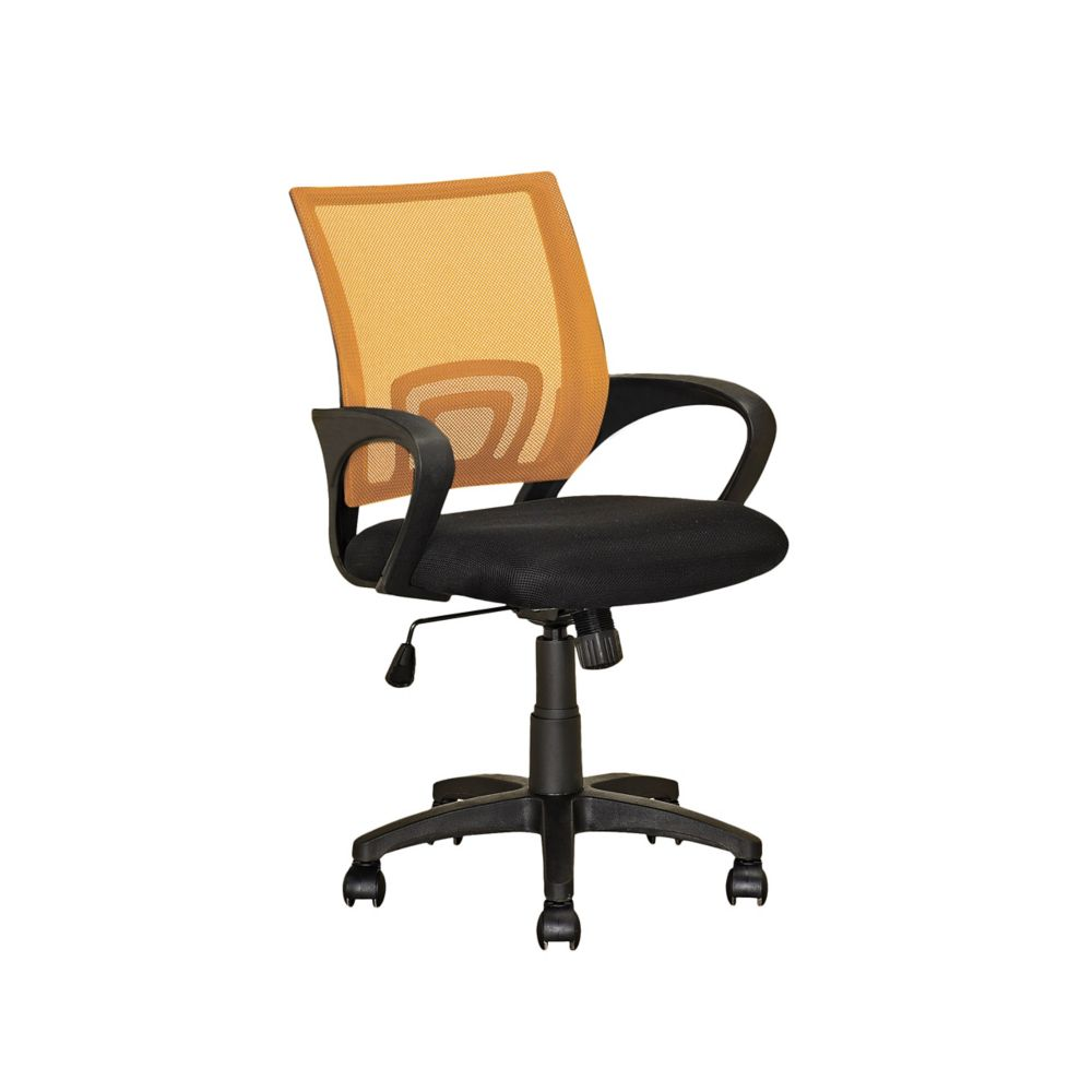 Workspace Orange Mesh Back Office Chair