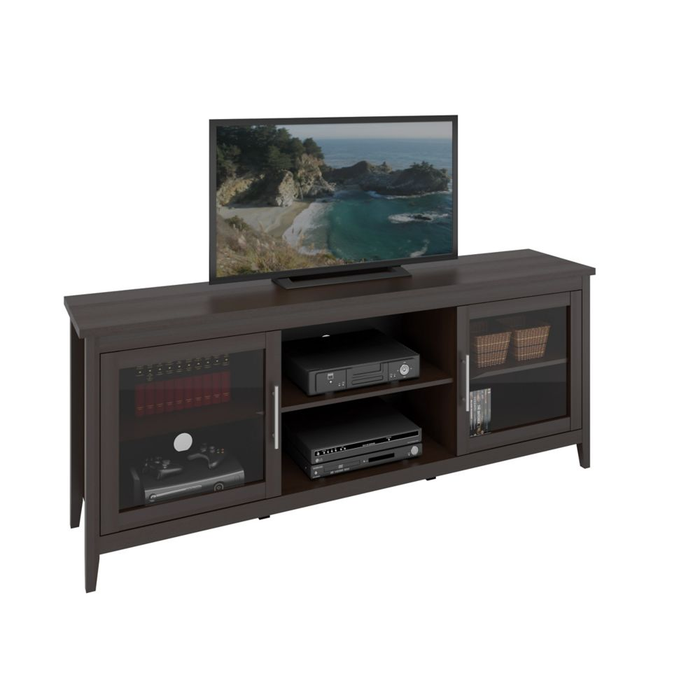 Jackson Espresso TV Bench, For Tvs Up To 80 Inch