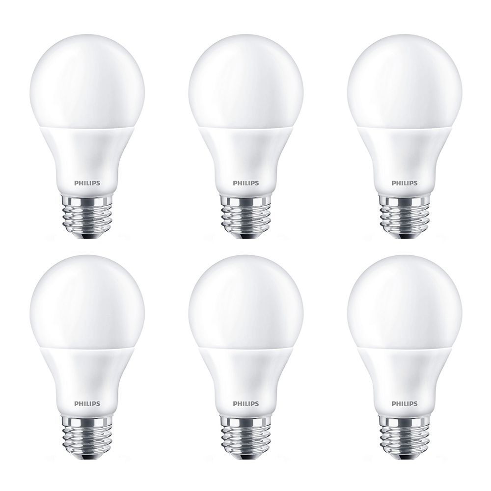 Led 60w A19 Bright White (3000k) - Case Of 6 Bulbs